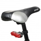 AKSLEN TL-62S 2LM Bike 3-Mode 5-Rouge LED Tail Light - Noir + rouge