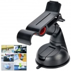 Car 360 Degree Rotation Mount Holder for Samsung / HTC / IPHONE - Black