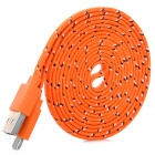 Micro USB Male to USB 2.0 Male Data Sync / Charging Cable for Samsung Galaxy Note 10.1 P600 - Orange