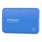 PISEN 4-in-1 USB 2.0 TF/Micro SD / M2 / MS / SD Card Reader - White + Blue (Max. 64GB)