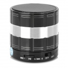 Y-S26B 3W Stereo Bluetooth V3.0 Speaker w/ Mini USB / TF / Mic for IPHONE + More - Black + Silver