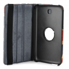 Protective 360 degree Rotation PU Leather Case for Samsung T210 / T211