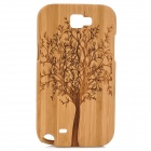 Tree Pattern Protective Bamboo Back Case for Samsung Galaxy Note 2 N7100 - Wood