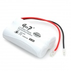 "GD 509 2.4V ""1200mAh"" Rechargeable 2 x AA Cordless Phone Replacement Battery Pack - White"