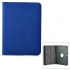 Protective 360 Degree Rotation PU Leather Case for Samsung Galaxy Tab 3 10.1 P5200 - Deep Blue