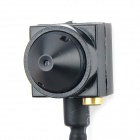 KF-205AV Mini CMOS 1280 x 960 AT CCTV Camera - Black (12V)