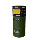 Flenda CB-R138-05 Portable Camp Stove Multi-fuel Windproof Stove - Black + Olive Green