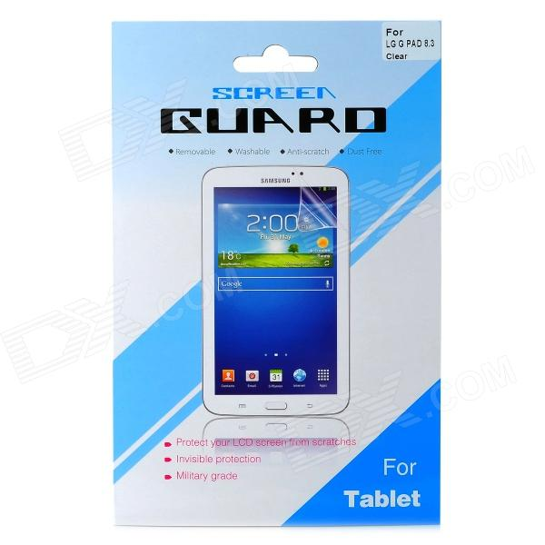 Protective Screen Protector Guard Film for LG G Pad 8.3 (V500)