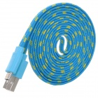 Woven Micro USB Male to USB 2.0 Male Data Sync / Charging Cable for Samsung Galaxy Note 10.1 P600