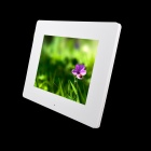 10.4 inch LED New Ultra-thin Digital Photo Frame with SD, MMC, USB, Earphone - White (16MB)