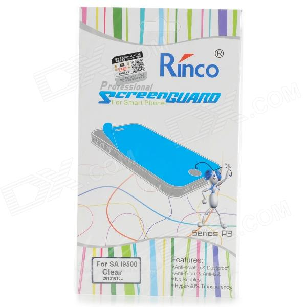 RINCO A3 Protective PET Screen Protector Guard Film for Samsung Galaxy S4 i9500