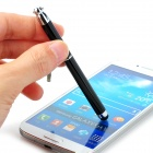 F6 Mini Capacitive Touch Screen Stylus Pen w/ Anti-Dust Plug for Cell Phones - Black