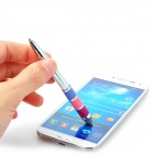 CKB-1 Universal 2-in-1 Capacitive Stylus + Ball-point Pen for Cellphone - Silver
