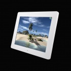 12 inch LED New Ultra-thin Digital Photo Frame with SD, MMC, USB, Earphone - White (16MB)