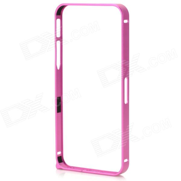 Ultrathin Protective Aluminum Alloy Bumper Case for IPHONE 5 / 5S - Deep Pink ultrathin protective aluminum alloy bumper case for iphone 5 5s deep pink