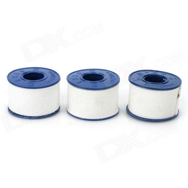 Bm-Pm Non-woven Fabrics Medical Adhesive Tape - White + Blue (3 PCS) non allergic rhinitis factory price medical light cost for laser treatment