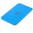 X5 Qi Standard Mobile Wireless Power Charger - Blue (EU Plug / 100~240V)