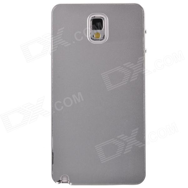 Fashionable Protective Aluminum Alloy Back Case for Samsung Galaxy Note 3 - Silver