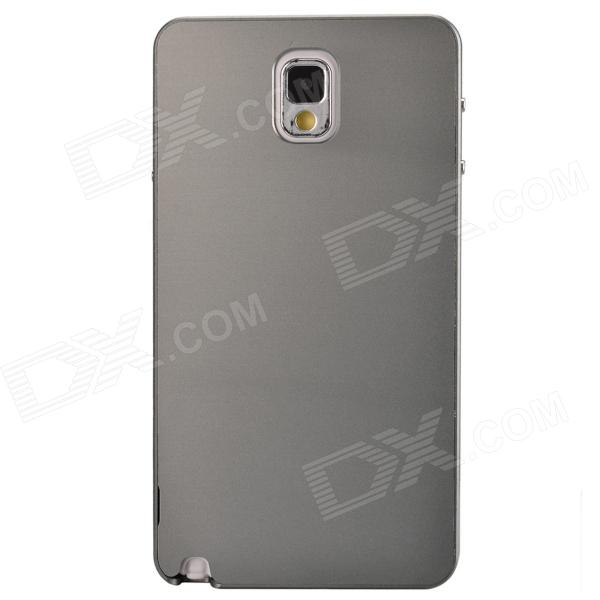 Fashionable Protective Aluminum Alloy Back Case for Samsung Galaxy Note 3 - Grey