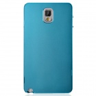 Fashionable Protective Aluminum Alloy Back Case for Samsung Galaxy Note 3 - Blue