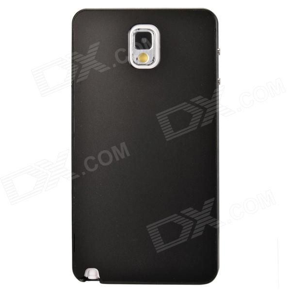 Fashionable Protective Aluminum Alloy Back Case for Samsung Galaxy Note 3 - Black