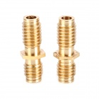 Ultimaker 3D Printer M6X20 Brass Pipe - Golden (2 PCS)