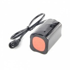 UltraFire U-33 7-LED 3-Mode 3500LM Frío Blanco Bike Light / Faro - Negro (4 x 18650)