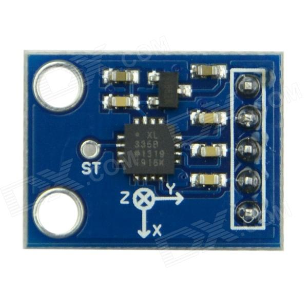 Produino ADXL335 Triple Axis Accelerometer / Analog Sensor for Arduino - Blue цена