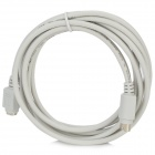 PS2 Male to PS2 Female Extension Cable for Mouse / Keyboard - White