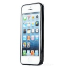 Protective Matte PC + TPU Back Case for IPHONE 5 / 5S - Black