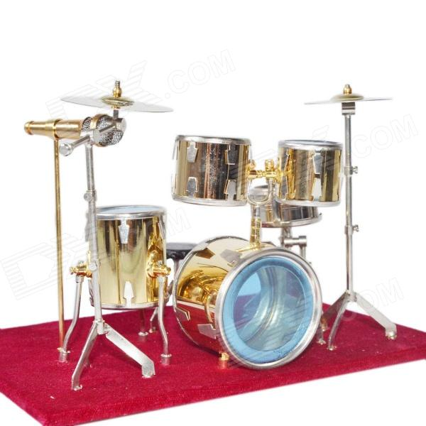DEDO Gild Music Art MG-243 Oro-plateado Mini Jazz Drum - Red + de Oro