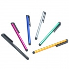 Pencil Style Flexible Capacitive Screen Stylus - Multicolored (6 PCS)