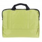 "Tee 11.6"" Shock-Proof Water Resistant One-shoulder Sleeves Bag w/ Handle for Notebook - Green"
