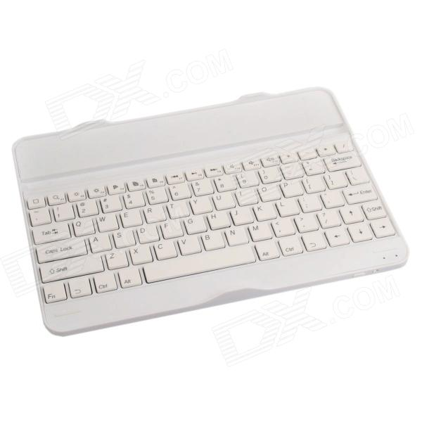Rechargeable Bluetooth V3.0 82-Key Keyboard for Samsung Galaxy Note 10.1 2014 Edition P600 - White thompson habermas critical debates paper