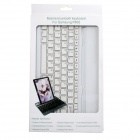 Rechargeable Bluetooth V3.0 clavier 82 touches pour Samsung Galaxy Note 10.1 2014 Édition P600 - Blanc