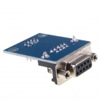 RS232 to TTL Link Communications Module w/ Indicator-Dupont Cables - Blue + Black