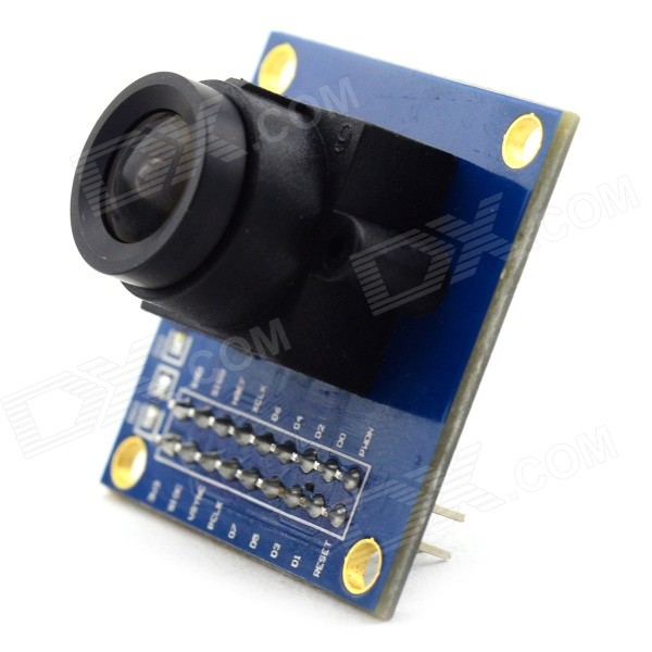 Jtron OV7670 300KP VGA Camera Module for Arduino - (Works with Official Arduino Boards) jtron mini controller module black works with official arduino board
