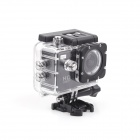 "ESER F23 1.5"" LCD 170 Degree Wide Angle 12.0 MP Outdoor Waterproof Mini Sport Camera - Black"