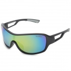 Kallo 99350 Outdoor Sports UV400 Protection Polarized Sunglasses - Black + Light Grey