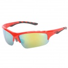 Kallo 99152 Outdoor Sports UV400 Protection Polarized Women's Sunglasses - Red + Black