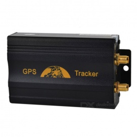 GPS/GSM/GPRS Tracker for Personal Remote Positioning - Black