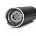 exLED 3W 80lm 1-Mode Mini Flashlight - Black (3 x AAA)