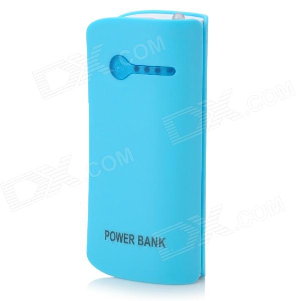 "Cool Orange 5V ""5600mAh"" Li-ion Battery Power Bank for IPHONE / IPAD + More - Blue"
