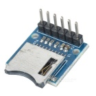 5235 Micro SD Card Module - Blue + Silver