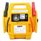 SH-303-1 Peak 600AMP Car Jump Starter with Air Compressor 4 in 1 - Black + Yellow
