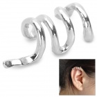 Buy LX-1019 Punk Style Snake Shape Magnesium Alloy Women's Earring - Silver