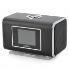 NIZHI TT6 Portable Mini Music Speaker MP3 Player w/ FM / TF Card Slot - Black