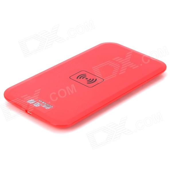 02A 5V 1A Qi Wireless Charger - Red