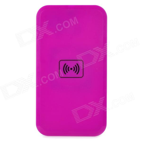 02A QI Standard Mobile Wireless Charger - Purple - DXWireless Chargers<br>Transmission distance: 5~7mm; Charge efficiency: &amp;gt;/= 70%<br>