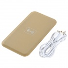 Chargeur sans fil Q9 pour iPhone 4 / 4S / 5 / Samsung S3 / S4 / Note 2 - Champagne Gold